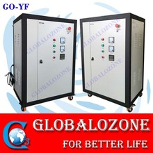 Decolor and bleach ozone machine for jean industry water treatment system
