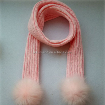 Winter strap neck warmer knitted scarf women