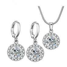 High quality jodha akbar wedding jewelry set with full diamond star necklace earrings set