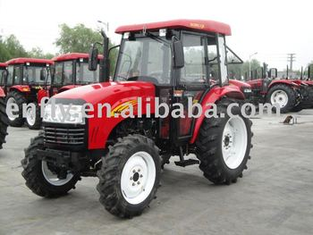 55hp, 4WD tractor, ENFLY DQ554, tractors, farm equipment, wheel tractor, universal tractor