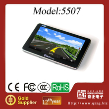 5 Inch Portable Navigation GPS with Bluetooth/AV-IN/ISDB-T function