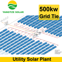Big power capacity 500kw solar panel system price