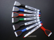 customized refill ink whiteboard marker with brush