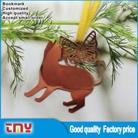 New Arrival Creative Design Metal Bookmark Manufacture in China
