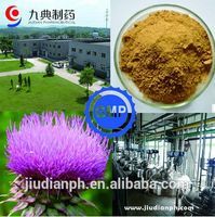 GMP Factory 100% Natural Milk thistle extract silymarin silybin 20%-98%