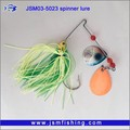 Silicone Plastic JIg head spinner baits artificial Fishing Lure Baits with High performance