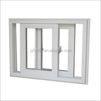 pvc swing opening horizontal casement impact glass windows
