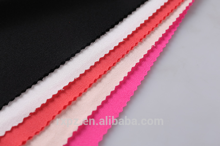 China Manufacturer China wholesale Custom Dress polyester and spandex fabric