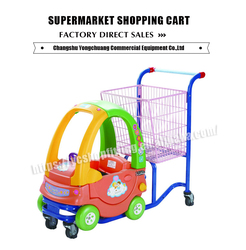 baby cart children toys car supermarket shopping toy car shopping trolley