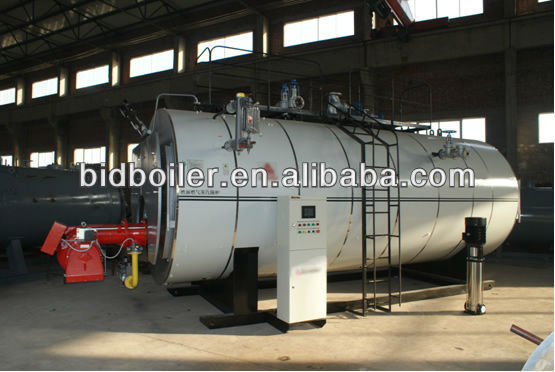 Wns series methyl alcohol fired hot water boiler