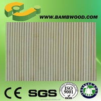 European modern 3d effect bamboo wall covering