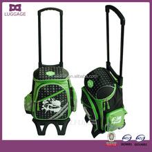 2017 Skilled Custom Made Retractable Handle Rolling Dance Bag