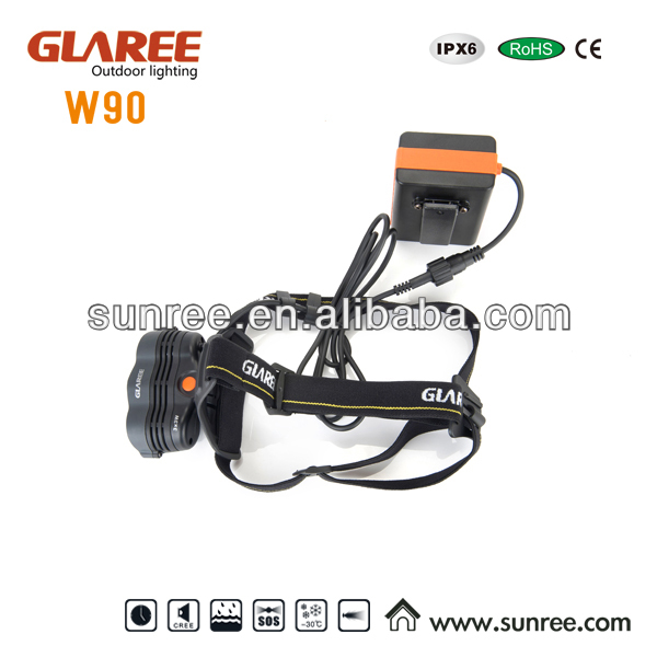 China Super brightness cree headlight supplier