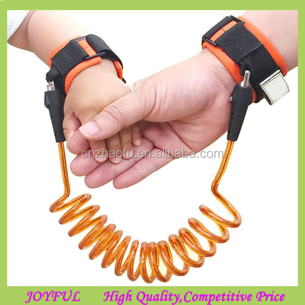 Wholesale 2017 best selling baby wrist link traction rope outdoor travel toddler child anti lost belt