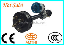 CCC CE Certification tricycle parts, E rickshaw rear axle with motor with controller, trike rear axle