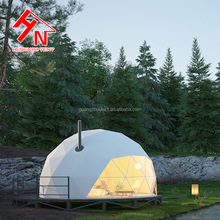 Guangzhou New Product Large Luxury Outdoor Waterproof Family Geodesic Camping Dome House Tent