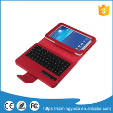 Factory manufacturer supply bluetooth keyboard leather case for ipad