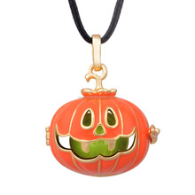 H221A13 Newest Angel Callers Amazing Style Pumpkin Design Harmony Bola with Chime Color Ball Best Gift for Hollowen Day
