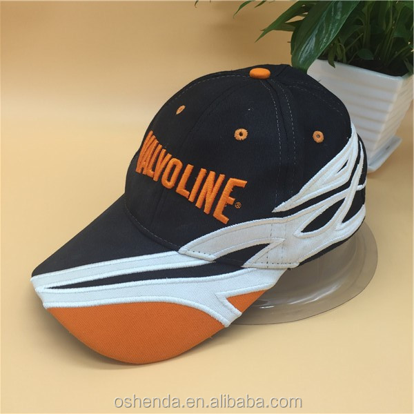 wholesale Customised Embroidery 6 Panel Cotton Sports Baseball Caps/Hats