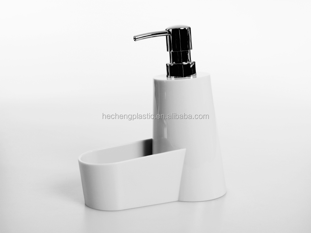 HIPS lotion dispenser with sponge holder