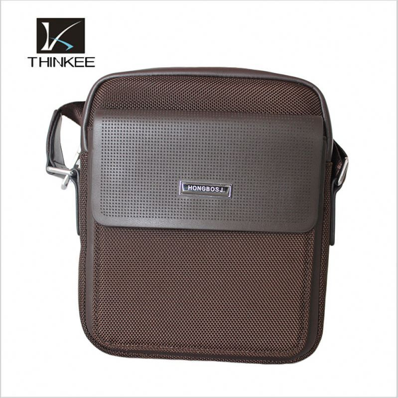 Brand Men's Custom Design Shoulder Bag Leather Handbag Wholesale