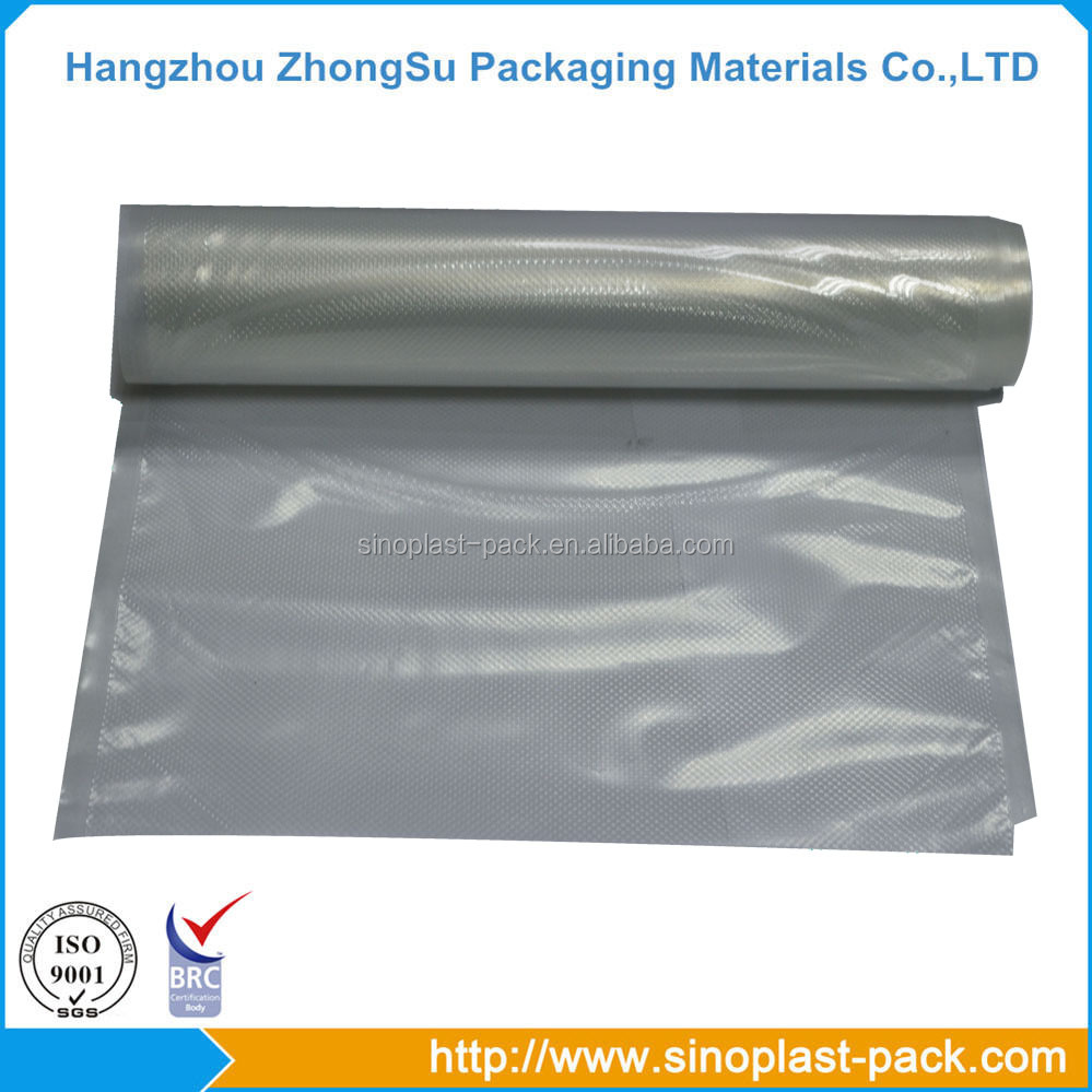 high barrier vacuum sealer bag film high transparency food plastic vacuum packaging roll film pa/pe vacuum packaging roll film