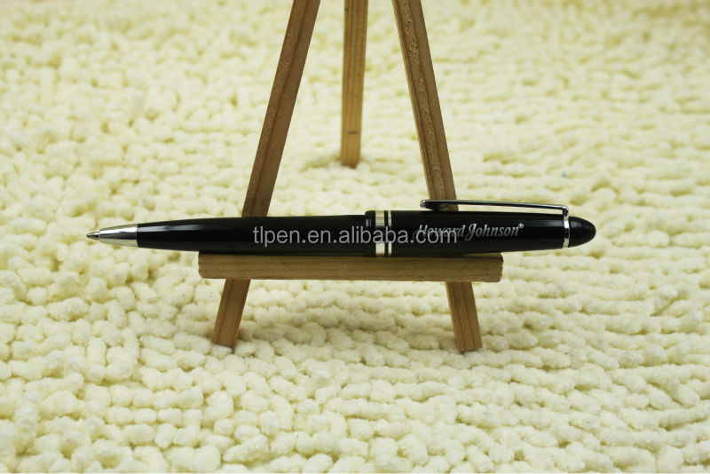 classic plastic ball pen with hotel logo9602