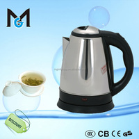national stainless steel electric kettle , 360 degree rotation CB CE GS ROHS electric kettle , mini home appliance