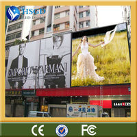 ip65 both front and back led big outdoor advertising screen 10mm pitch pixel rgb full color