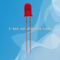 6V 5mm Red diffused led with Resistor inside