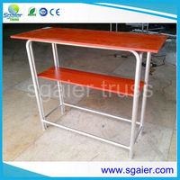 Hot selling aluminum high bar cocktail table in New Zealand
