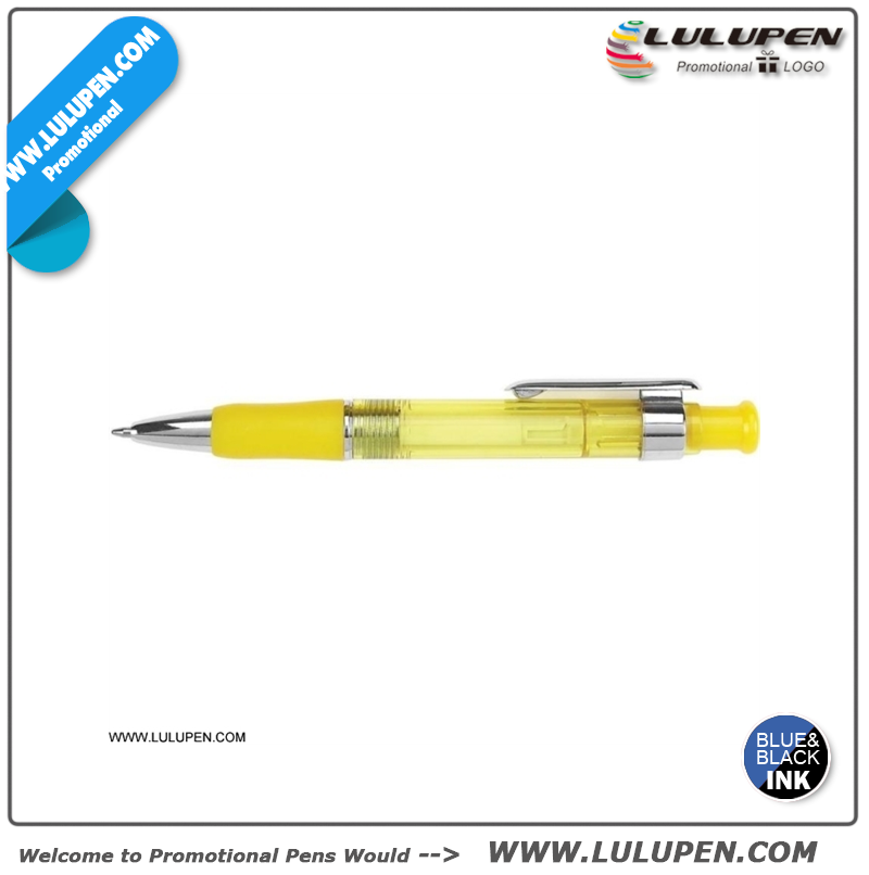 Hi-Tech Pen (Lu-8166) customized pen holder cheap ballpoint pens bulk