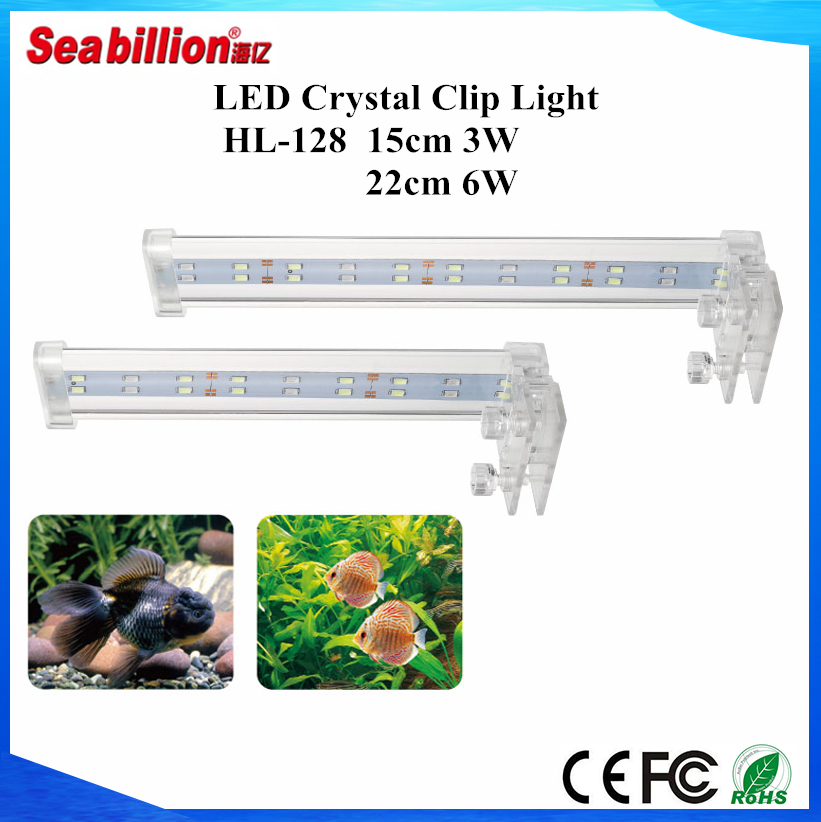 Favoured coral reef led aquarium light led clip light for crystal light box for hot selling for aquarium tank with high quality