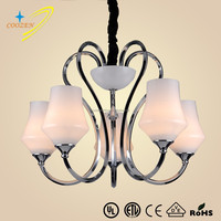 GZ20465-5P European style indoor hotel chandeliers lamp glass ball pendant light