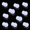 100 pieces Silicone Earbud Eartip For Two Way Radio Acoustic Tube Earpice Headset