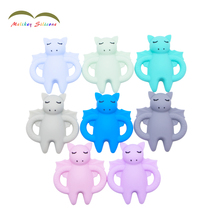 Silicone Baby Teether Wholesale with BPA Free Welcome Custom Teether /Silicone Dragon Teether