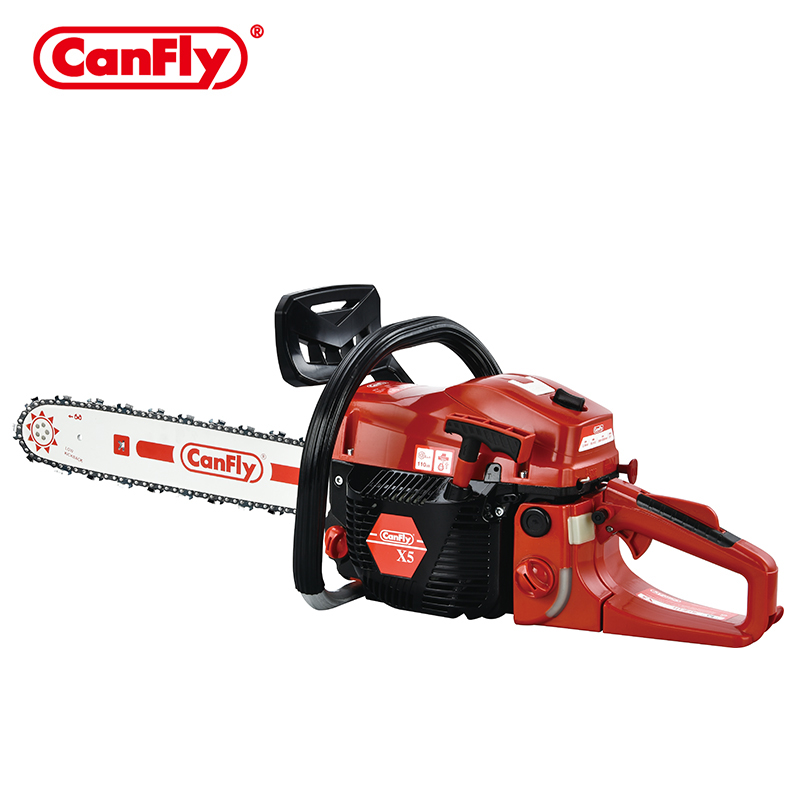 Canfly brand x5 top quality 5800 professional tree cutting machine chainsaw