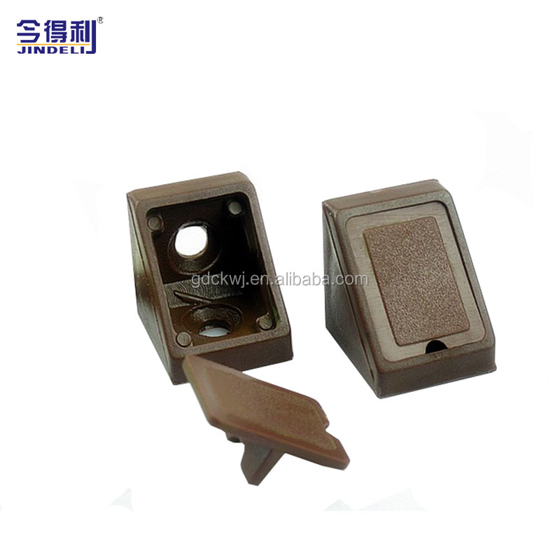 Colorful Wood Furniture Decorative Plastic Cabinet Corner Connecting Bracket