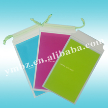 Best sale custom cheap small plastic rope drawstring bag for gift