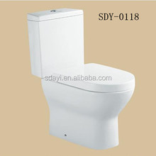 ceramic sanitary ware two piece wc portable toilet bowl types of water closet