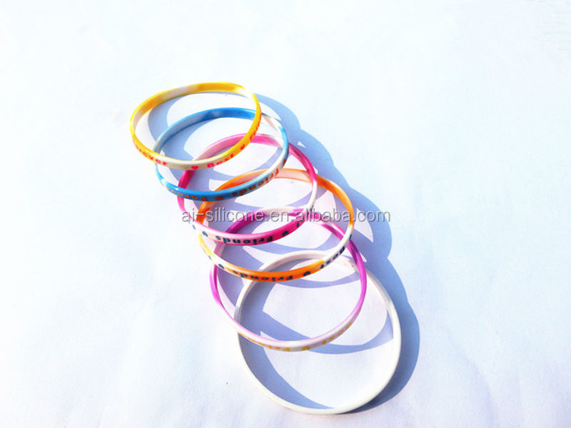 Silicone Jewelry Charm Bracelets Bracelets or Bangles Type rainbow loom rubber bands ,silicone bracelets