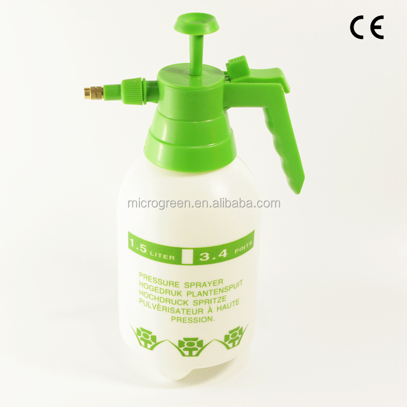 1.5L Agriculture Manual Pressure Sprayer With Brass Nozzle Sprayer