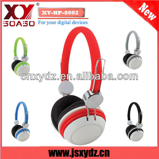 Durable changing color branded headphones custom logo