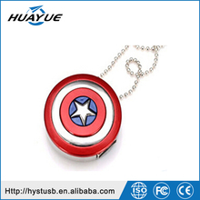 2015 hot sale usb pendrive Captain americas shield usb flash drive 2.0 mini UDP U disk 4GB/16GB/32GB/64GB memory stick