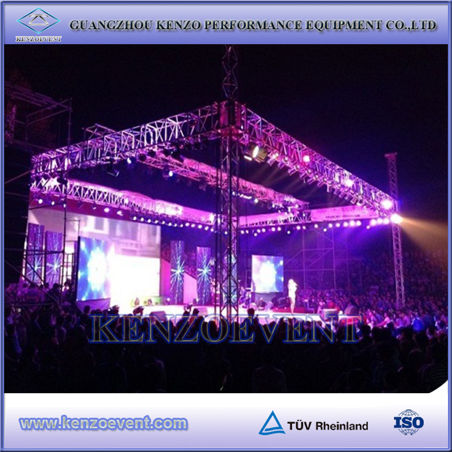 on sale aluminum disco lighting truss for musical performance