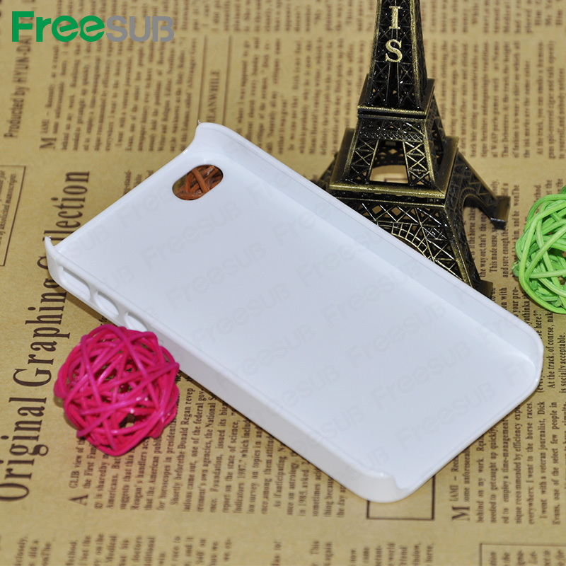 Wholesale 3D case with silicon glossy sublimation cell phone cases for Iphone 5