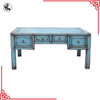 antique reproduction solid wood pine furniture wholesale, coffee table