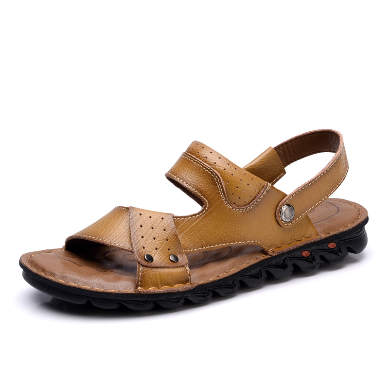 Free Shipping <strong>Sandals</strong> Men Slipper Made In China Manufacturer Leather <strong>Sandals</strong> Men
