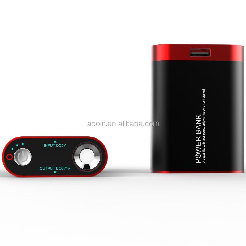 rechargeable battery powered handwarmer power bank with LED torch and SOS light