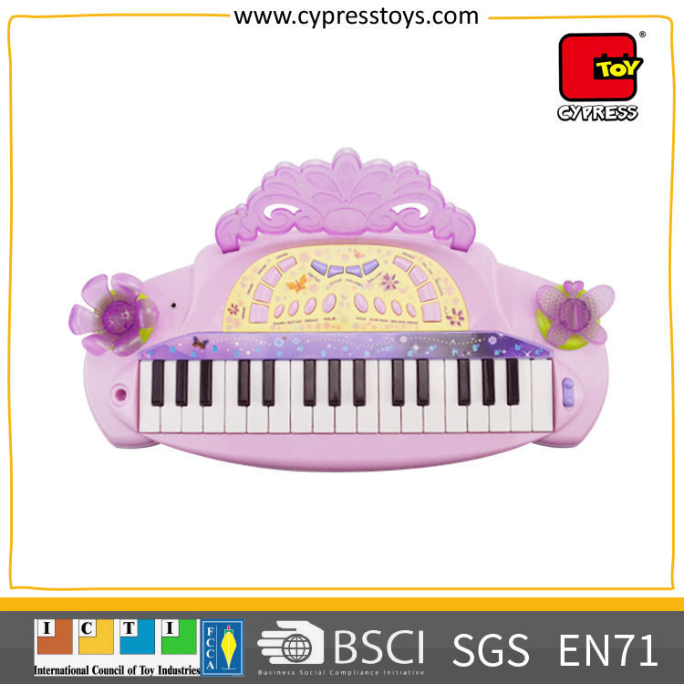 new products 2017 wholesale music toy set electric piano keyboard with chair